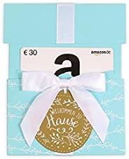 Amazon.de Geschenkkarte in Geschenkkuvert (Willkommen zu Hause)