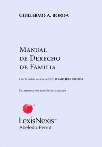 Manual de Derecho de Familia por Guillermo Julio Borda