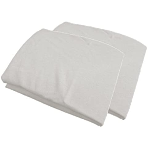 Materasso culla lenzuolo con angoli Jersey 30x 16–Confezione da 2