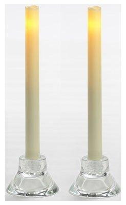 inglow cgt13109cr2Flammenlose Taper Kerzen, 9Zoll, 2er Pack (Luminara Kerzen Flammenlose Taper)