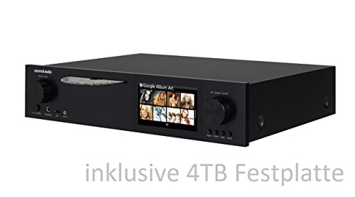 CocktailAudio X40 All-in-One HD Musikserver (Netzwerk Streamer/Streaming -Client, CD Ripper, DAC) schwarz inkl. 4 TB 3