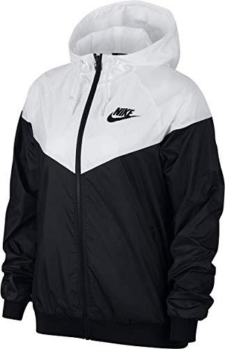 Nike Damen W NSW WR JKT Jacket, Black/White, S