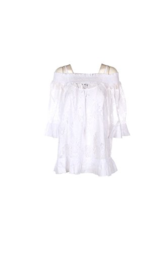 Blusa Donna Twin-set 50 Bianco Ps72vp 1/7 Primavera Estate 2017