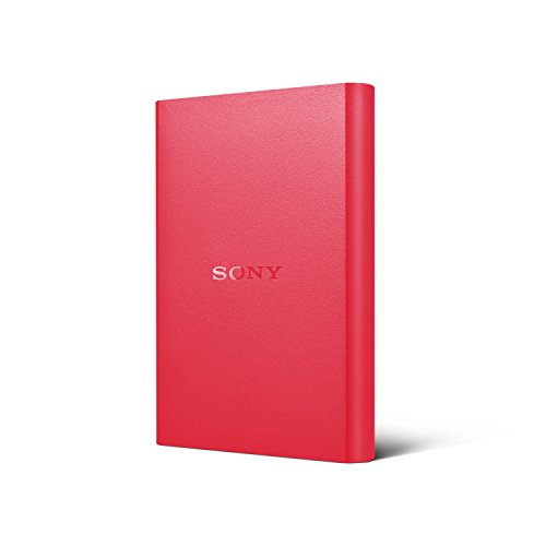 Sony HD-B1/R 1TB External Hard Disk Red Price in India