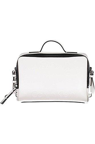 chen Damen, Color Wei�, Marca, Modelo Handtaschen Damen Edge Camera Bag Wei� ()