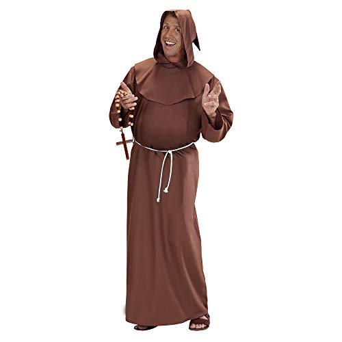 Kostüm Kapuze Papst - Karnevalskostüme Mönch Priester XL