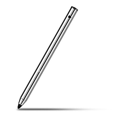 weallnersse wiederaufladbar Active Stylus Digital Pen mit verstellbarem feine Spitze für präzise Schreiben/Zeichnen auf iPhone/iPad/Samsung/Oberfläche/Android Touchscreen, Smartphones, Tablets, Notebooks