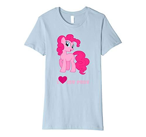 Tante Cute Frauen T-shirt (I love my Cute Little Pony T-Shirt Fantasy Pet Tee)