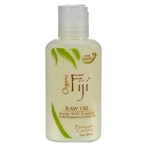 Organic Fiji Coconut Oil Pineapple Coconut 3 Oz by Organic Fiji