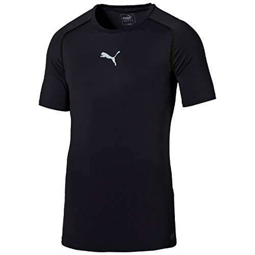 PUMA Herren T-shirt TB Short Sleeve Tee Team Orange