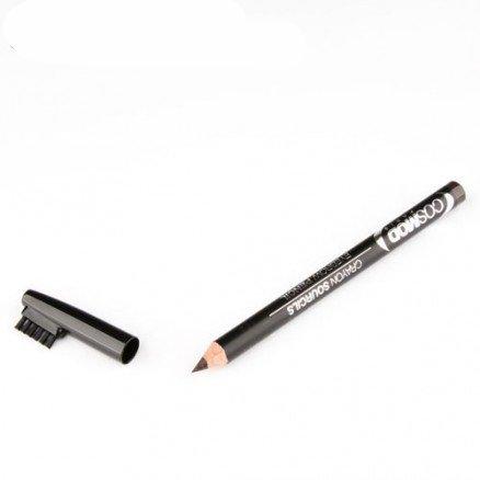 Crayon sourcils hypoallergénique N° 2 - Marron foncé - Cosmod
