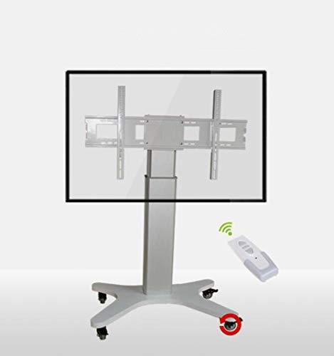 Mobiler TV-Stand, TV-Warenkorb Für 50-84 Zoll LED LCD Plasma-TV Plasma TV Flat Panel Displays 360 º Of Swivel With Wheels Mobile Height Adjust Home Office Bedroom Klassenzimmer Meetingroom Video-Call Mobile Flat-panel-display