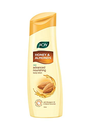 JOY Honey & Almonds Advance Nourishing Body Lotion, 100 ml