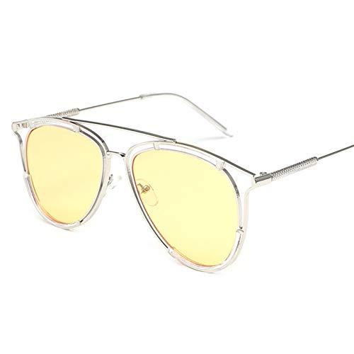 Beydodo Gelb Sonnenbrille Sport mit Harz Linse, Sonnenbrille 400 UV SchutzDamen