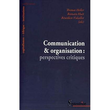 Communicationetorganisation:perspectivescritiques
