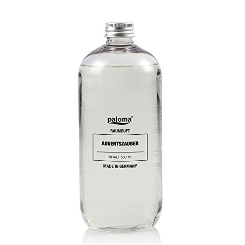 'Pajoma–Ambientador con Advent mágica ', transparente, Nachfüllflasche 500ml