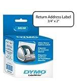 White Return Address Label 3/4 by Sanford