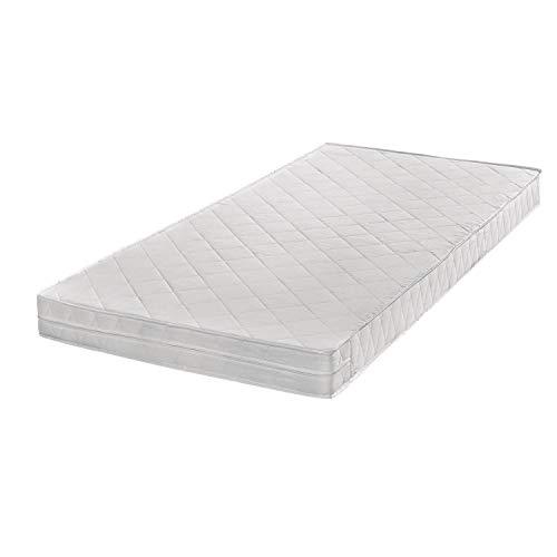 Breckle Poly Öko Micro Qualitäts Schaum-Matratze mit Klimafaserbezug, Gesamthöhe ca. 14 cm Größe 80x200