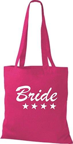 Sacchetto Di Stoffa Shirtstown Jga Sposa Sposa Molti Colori Rosa