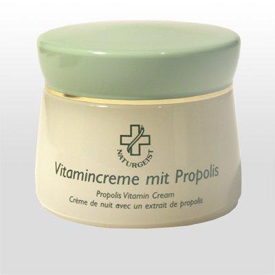 Hagina Vitamincreme mit Propolis 50ml, mit einem hautspezifischem Vitaminkomplex & Propolisextrakt, für sehr trockene Haut, auch für Männerhaut geeignet