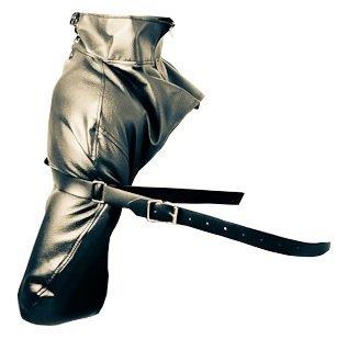 Bondage Set Leder Fesselsack Monohandschuh Hand Arm Fesseln Fesselset Handfesseln Hand Bein Fessel