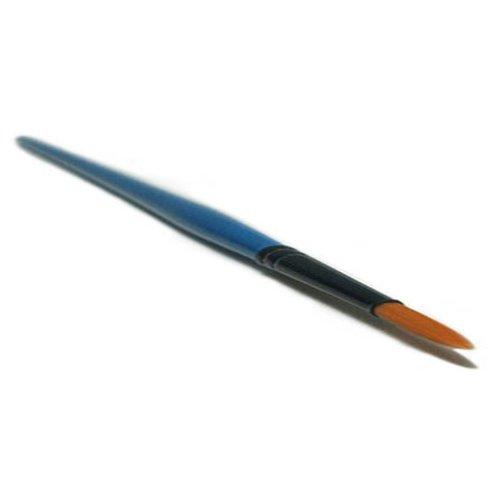 Gr. 8 spitz Gelpinsel Synthetikfaser Acryl Nail Art Maniküre Pinsel Nageldesign Acrylpinsel UV GEL