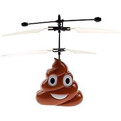 Avión de inducción suspendido remotamente suspendido caca pelota voladora juguete de inducción para niños control remoto del coche de suspensión modelo de avión de inducción de dibujos animados infant