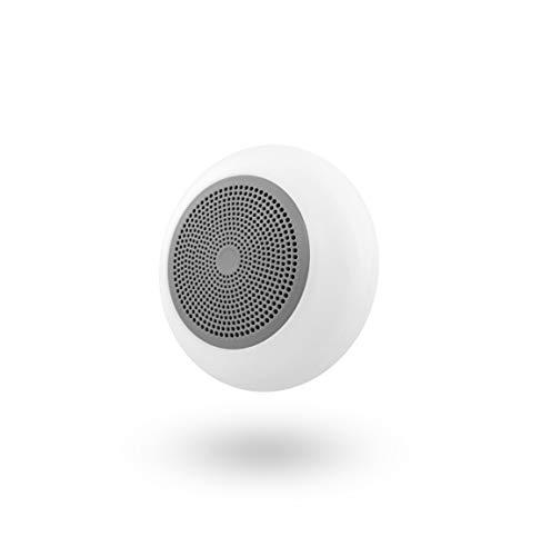 T'nB Altavoz Gris con Bluetooth y Lector de Tarjetas Micro SD Integrado - Compatible con Todos los Dispositivos Electrónicos. Retroiluminación LED.