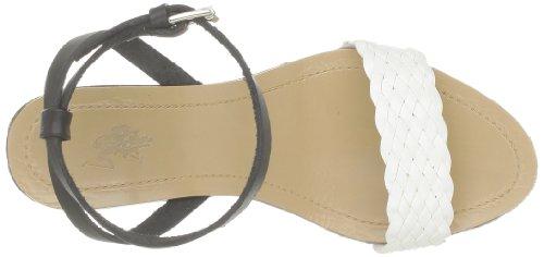 US Polo Assn Dora, Sandales femme Noir (Blk/Whi)