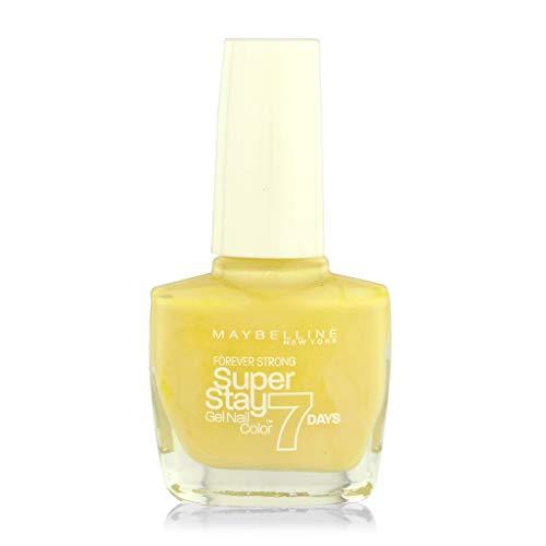 Gemey Maybelline Vernis à Ongles Super Stay 7 Jours - 22 Lookout Lemon