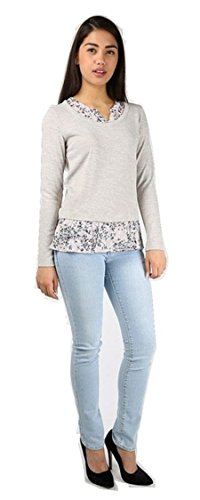 ladies-ex-high-street-marks-spencer-floral-chiffon-frill-mock-layered-long-sleeve-top-8