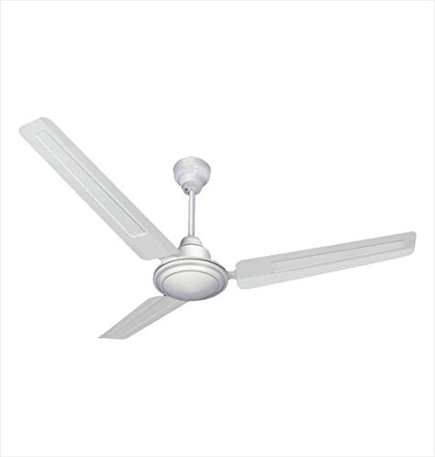 Longway Nexa Delux 1200 mm High Speed (100% Copper) Ceiling Fan - 400 RPM - 3 Years Warranty (White, Pack of 1)
