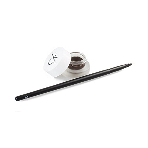 Calvin Klein CK One Cosmetics Set 2.8g Eyeliner Gel in Double Expresso + Pinsel