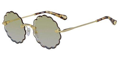 Chloé Sonnenbrillen ROSIE CE142S GOLD/DARK YELLOW SHADED Damenbrillen