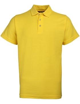 RTY Workwear - Polo pique grueso de mangar corta para hombre (Tallas disponibles S hasta 10XL / Disponibles tallas...