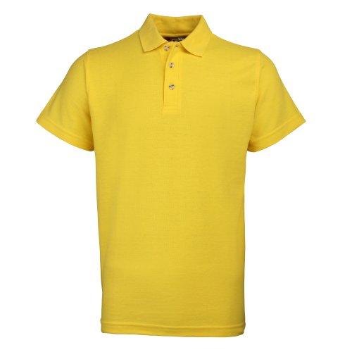 RTY Workwear Herren Polo-Shirt S bis 10XL Sonnenblumengelb