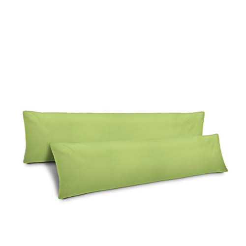 Lumaland Federa Cuscino 40x145 Verde Mela