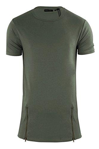 Brave Soul -  T-shirt - Camicia - Uomo Khaki - Green