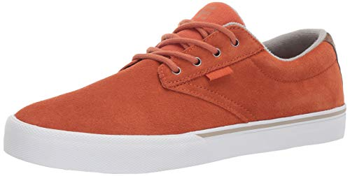 Etnies Jameson Vulc, Scarpe da Skateboard Uomo, Marrone (217-Brown/White 217), 42.5 EU
