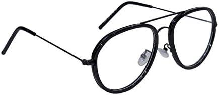 Peter Jones Aviator Unisex Optical Frame - (NC8, Black)