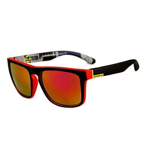 Xuxuou Unisex-Sonnenbrillen Radbrille Sportsonnenbrille Beschlagfreie Schutzbrille Arbeitsbrille Golf Brille Harte Gläser Fahrerbrille Skibrille Halbrandlose Sonnenbrille Outdoor Brille Angeln Brille