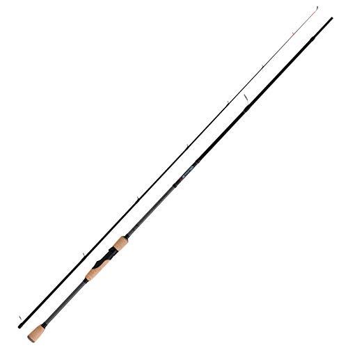 Fox Rage Warrior 2 Dropshot 240cm 4-17g - Drop Shot Rute zum Zanderangeln & Barschangeln, Spinnrute zum Dropshotangeln, Barschrute -
