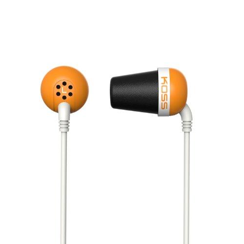Koss The Plug (Plug O - Earbud Noise Isolating w/Memory Foam Cushions)