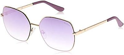 Guess GU7560 32Z 61 Monturas de gafas, Dorado (OroViola Grad E) E, 61.0 Unisex Adulto