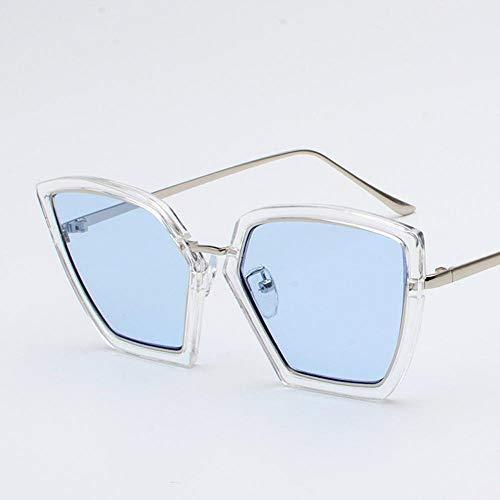 Mon5f Home Herren Sonnenbrillen Frauen Eleganz Unregelmäßige Sonnenbrillen weibliche Flut rundes Gesicht Korea Retro Sonnenbrille - Sonnenbrillen Männer Korea