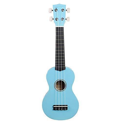 ZXZX Ukulele Ukulele Ukulele Soprano De 20 Pulgadas Con Mini Guitarra Acústica Ukelele Para Principiantes Con Bolsa Azul