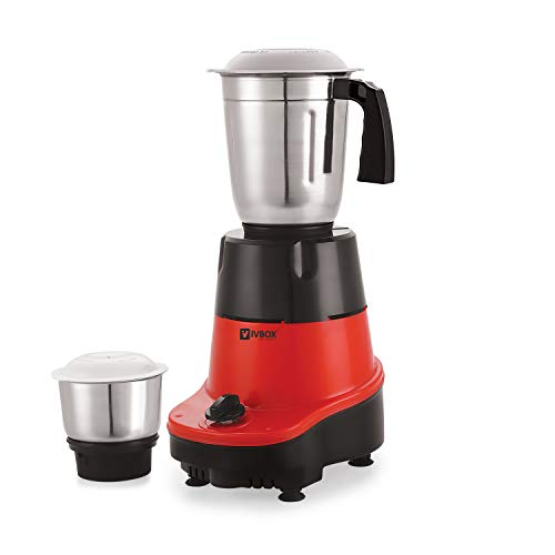 iVBOX Nano-Speed 550-Watt Mixer Grinder juicer with 2 Steel Jar