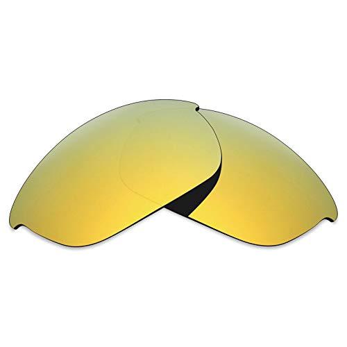 Mryok UV400 Ersatzgläser für Oakley Half Jacket 2.0-24K Gold