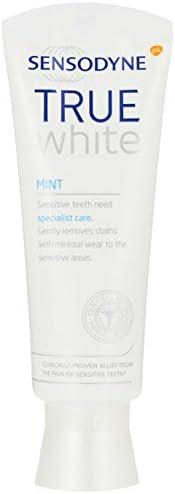 Sensodyne Specialist Whitening Toothpaste for Sensitive Teeth, True White Mint, 75ml