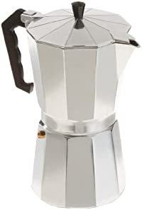CucinaPro 270-12 Stovetop Espresso Machine, 12-Cup